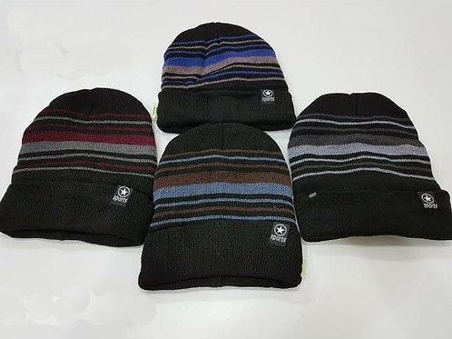 3566 Gorros de lana forrados