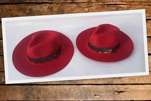 M-733 Sombreros de dama con aplique.