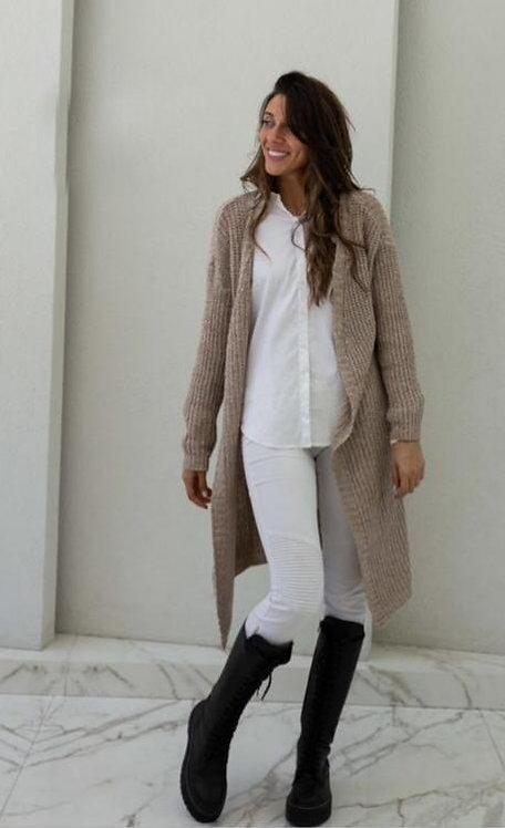 7030 Saco de lana largo