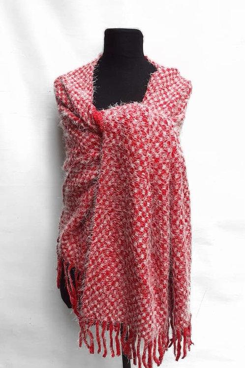 L-9622 Bufandas de lana con flecos