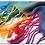 Thumbnail: F-449 Pashminas de jackard. Excelente calidad. Tornasoladas