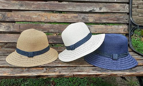 S-531 Sombreros de verano con cordón