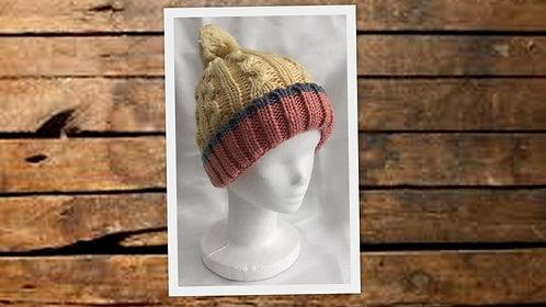 SU3148 Gorros de lana combinados con pompón, variedad de colores