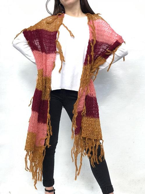 F-800 Bufandas de lana combinadas