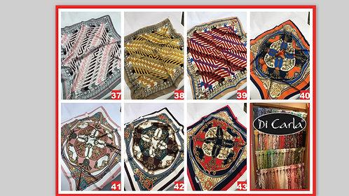 C19 Pañuelos grandes de raso Diseños a eleccion!