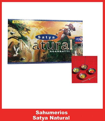 S05 - Sahumerio SATYA NATURAL OFERTA PACK X 12 CAJAS