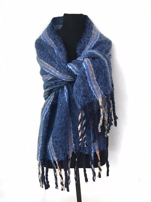 L- 3556 Bufandónes de lana alta densidad.