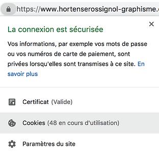 aide Google à la désactivation des Cookies