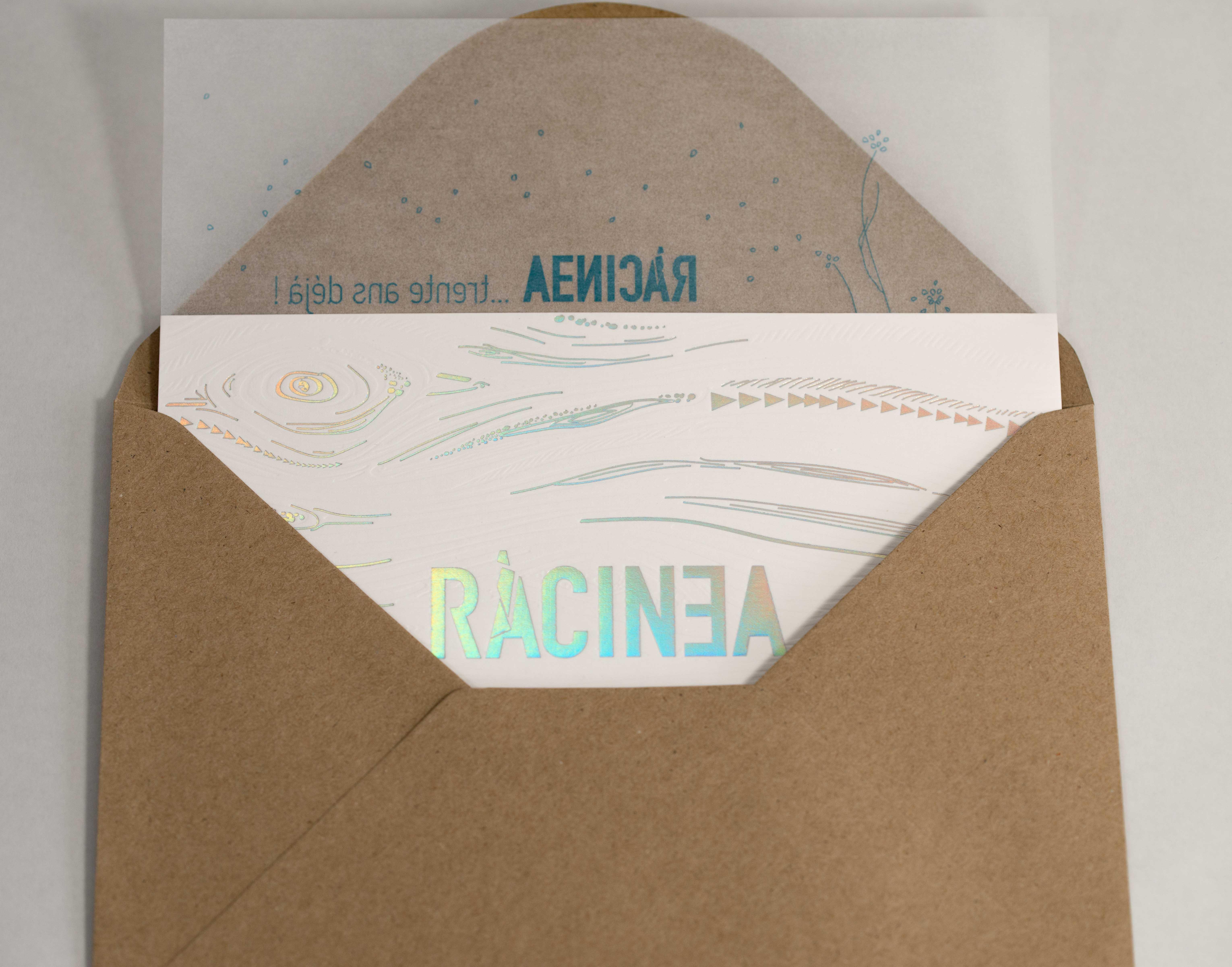 carton invitation anniversire racinea