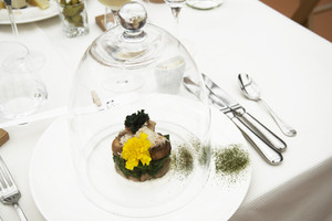 histoire extraordinaire : déjeuner à Chaumont
