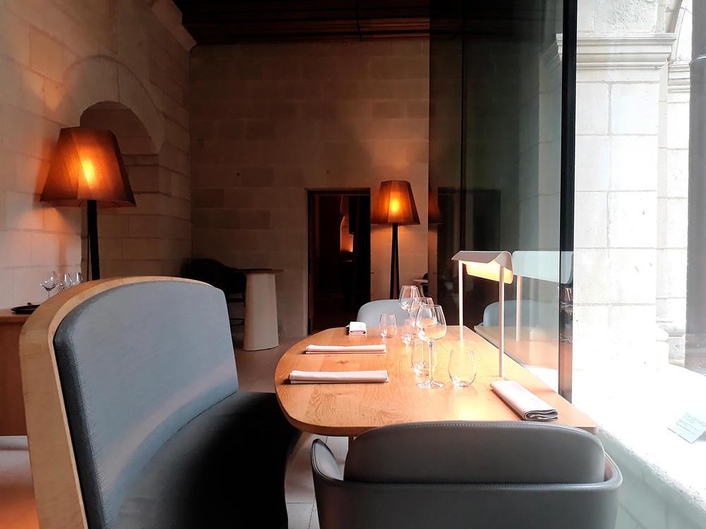 restaurant abbaye fontevraud