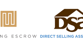 Meeting Escrow joins Direct Selling Association (DSA)