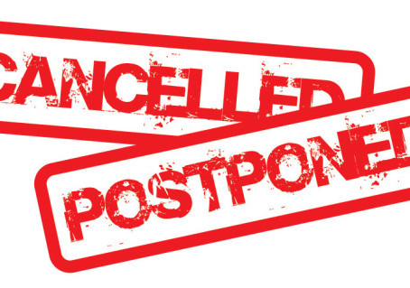 What is going to happen to all of the postponed events?