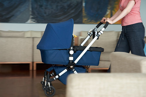 Double stroller for a client from the Women's and Children's Alliance