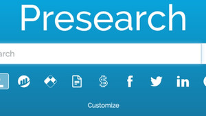Presearch- get paid to search the web