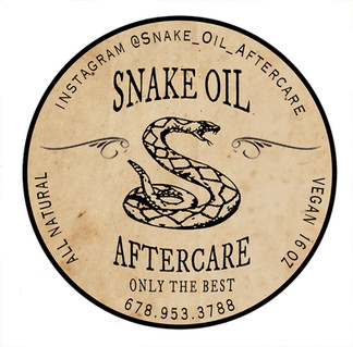 SNAKE OIL Original Formula Tin Label