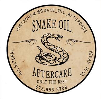 SNAKE OIL Original Formula Tin Label