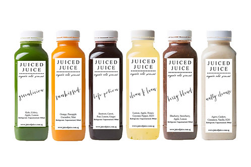 Custom Juice Cleanse