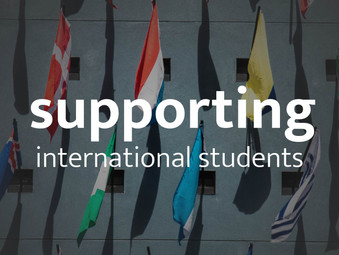Supporting International Students
