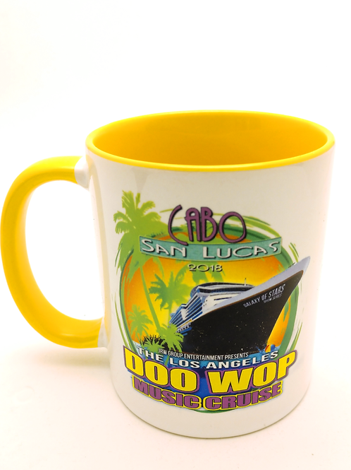 Cabo Doo-Wop Music Cruise Coffee Mug