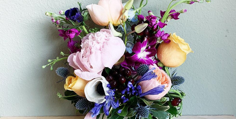 Art via Flowers
