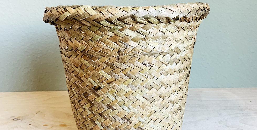 "6"" Tan Basket"