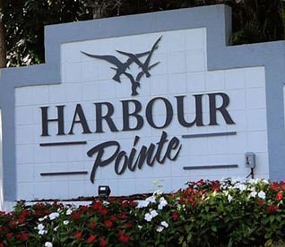 Harbour Pointe - New Monument Wall 2020.