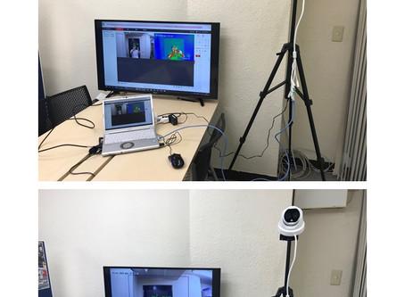 イベント開催とサーモカメラ