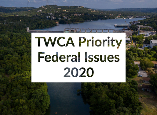Release of TWCA Priority Federal Issues 2020