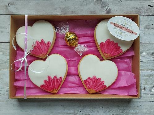Love hearts ( set of 4 )