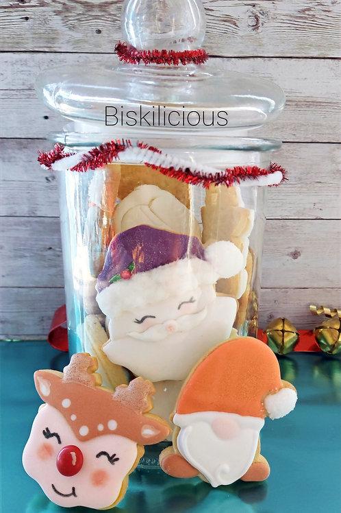 Christmas countdown in a jar