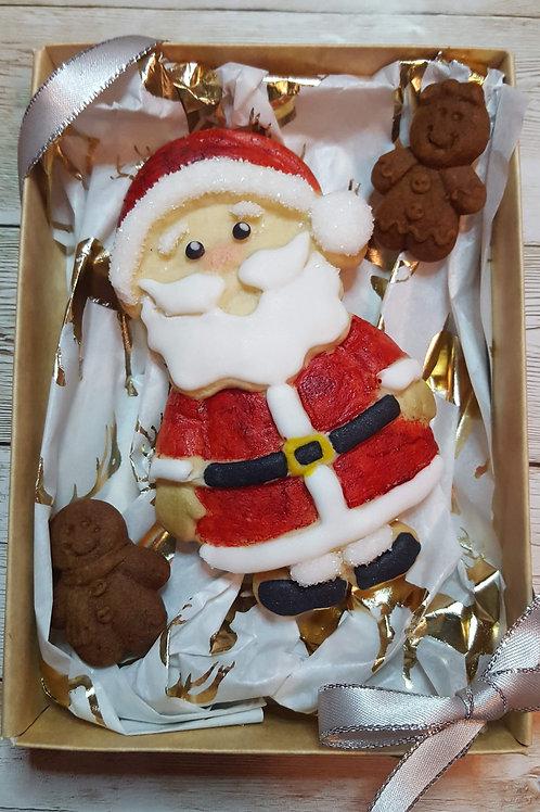 Santa Large cookie