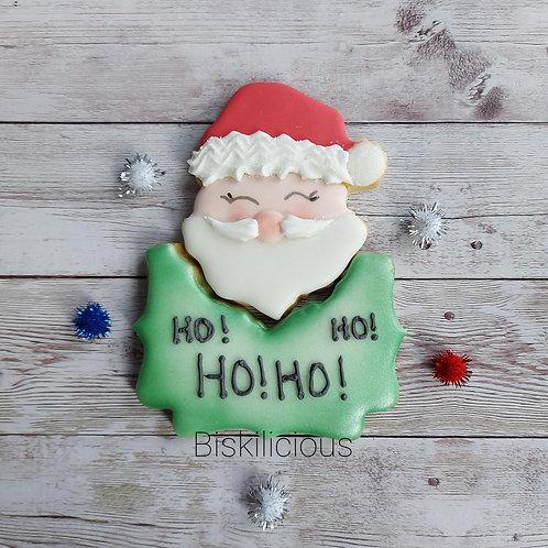 Santa cookie set