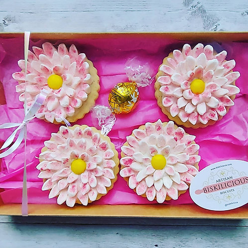 Marshmallow Flowers ( set of 4)