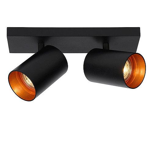 Plafondlamp Nuo 2 | zwart