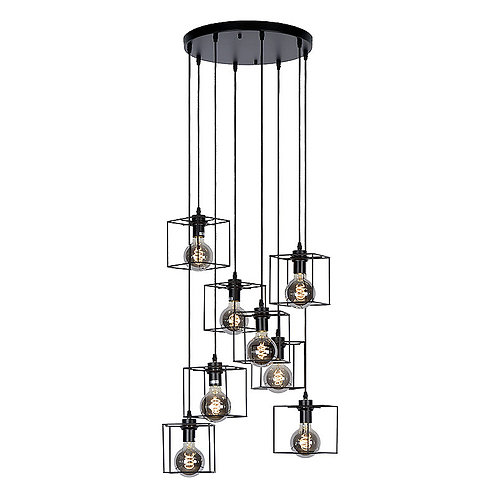 Hanglamp Noury 8 | rond