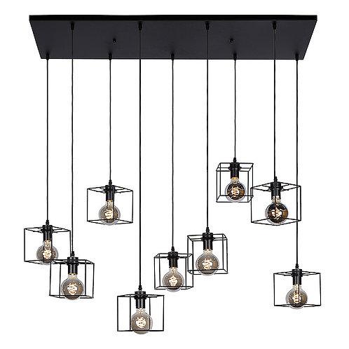 Hanglamp Noury 9   rechthoek