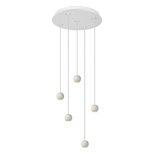 Hanglamp Balls 5 | wit | rond