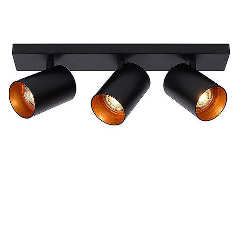 Plafondlamp Nuo 3 | zwart