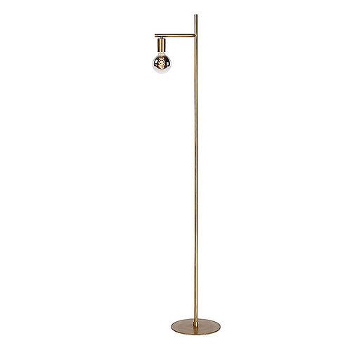 Vloerlamp Thika   antique brass