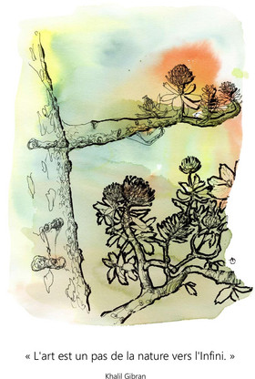 Art, nature et infini