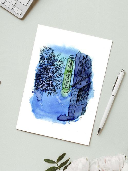 Carte 'Downtown, San Diego' / Carte postale A6 10x15