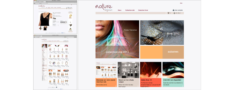 Webdesign I Bijoux