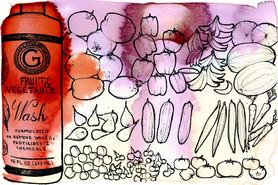Savon anti-pesticide