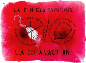 La fin des tampons, la cup à l'action