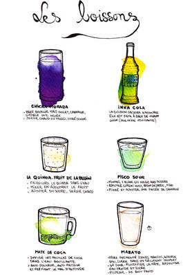 Les boissons péruviennes