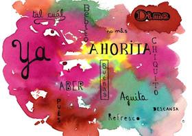 Nuage de mots espagnols