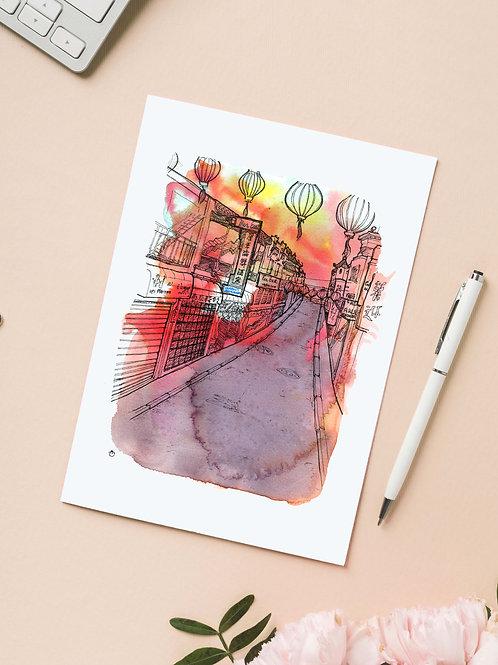 Carte 'Chinatown, San Francisco' / Carte postale A6 10x15