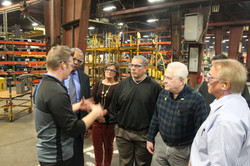 Tour of Excel Industries in Hesston