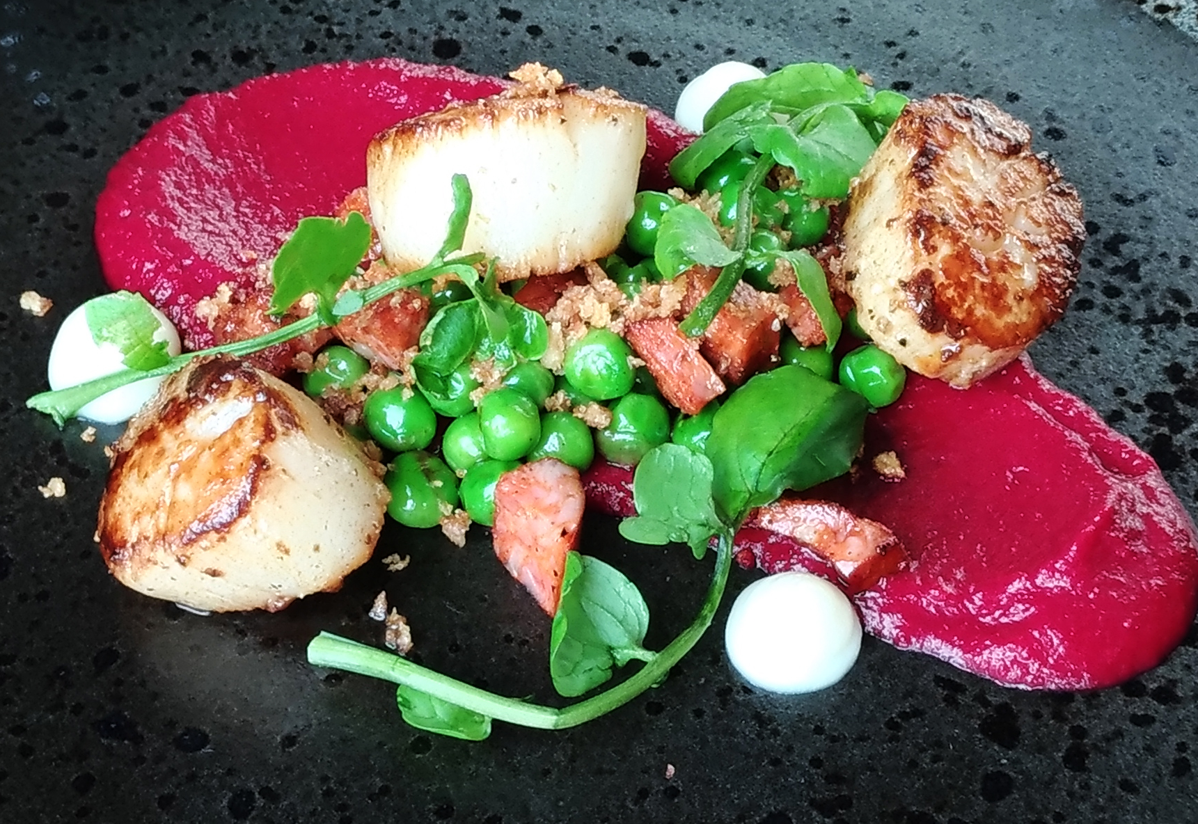 Scallops - site menu